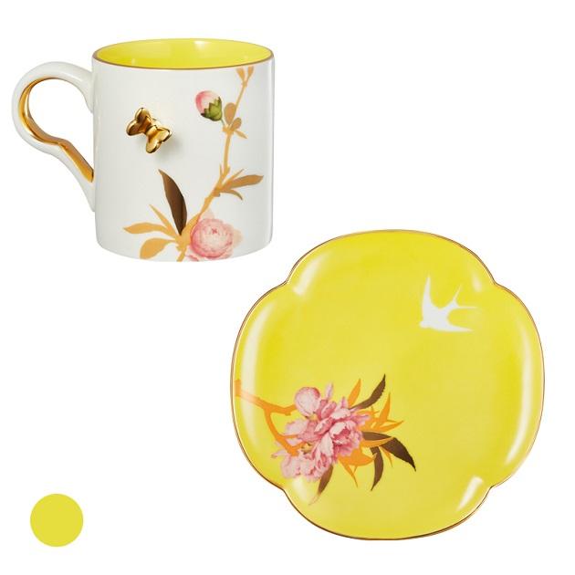 桃花燦燦杯盤組 1