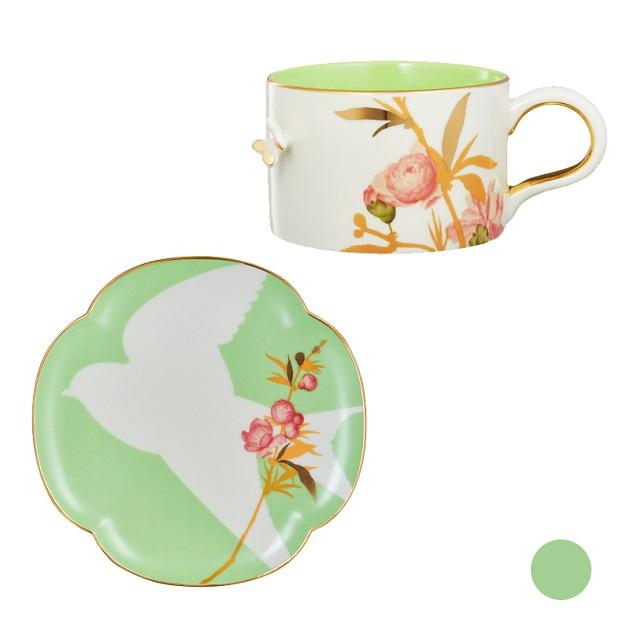 桃花燦燦杯盤組 4