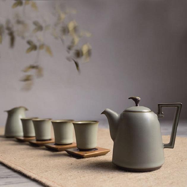 翠荷泰然茶具組 1